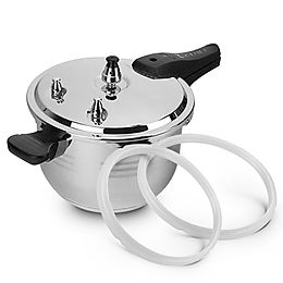 Benser 10L Commercial Grade Stainless Steel Pressure Cooker With Seal