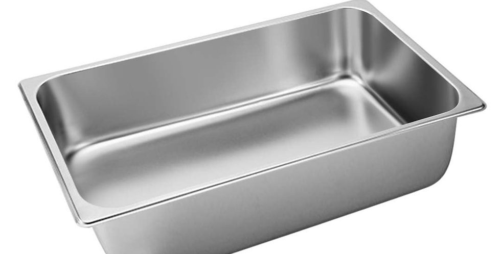 SOGA Gastronorm GN Pan Full Size 1/1 GN Pan 15cm Deep Stainless Steel Tray