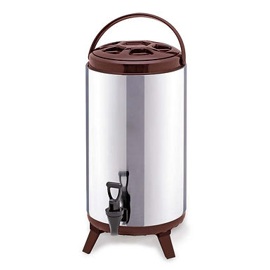 SOGA 18L Portable Insulated Cold/Heat Coffee Tea Beer Barrel Brew Pot With Dispe