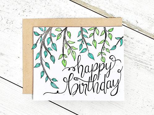 Happy Birthday Vines