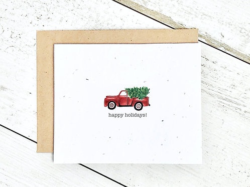 Happy Holidays Truck