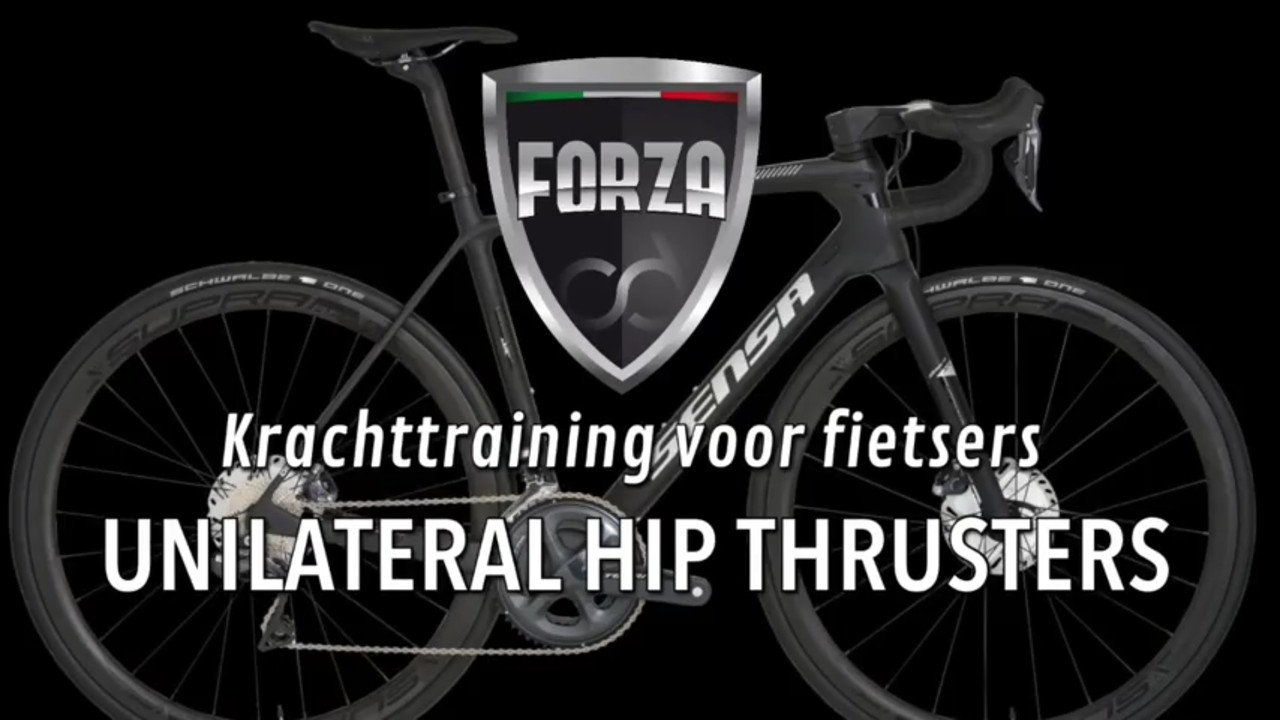Unilateral hip thrusters