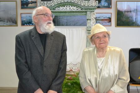 Лев Александрович Фомичёв и Лидия Александровна Демидова