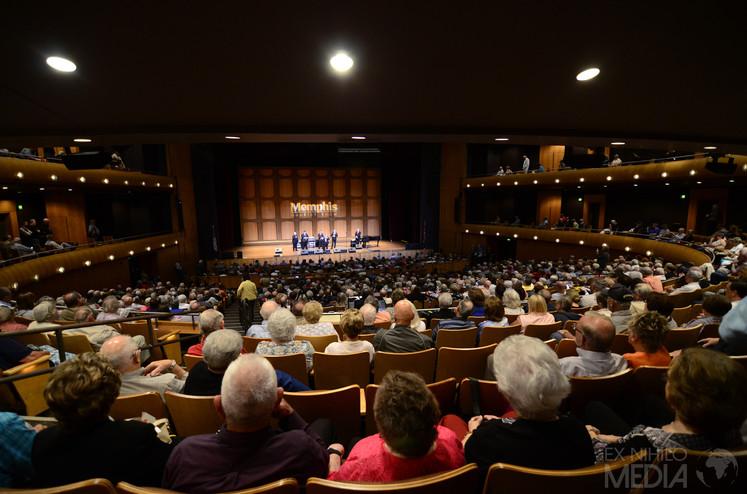 Memphis Quartet Show Crowd
