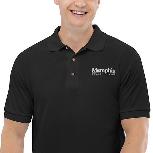 MQS Embroidered Polo Shirt