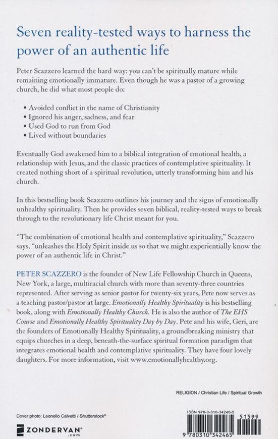 Emotionally Healthy Spirituality | faithfilledbooks