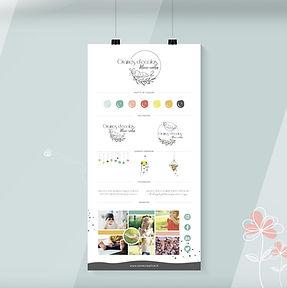 Création Brand Board Charte SAVE CREATIVE Graphiste Freelance Lyongraphique
