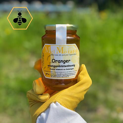 miel oranger suisse