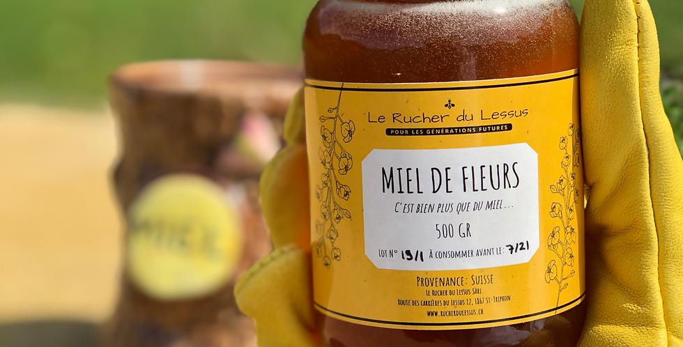 Miel de fleurs de notre rucher