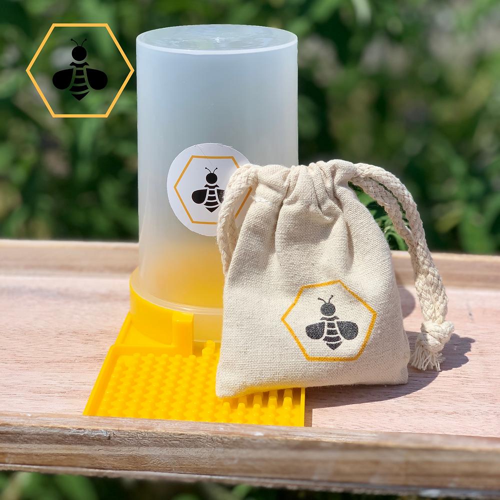 Pack pour les abeilles (graines mellifères+abreuvoir)