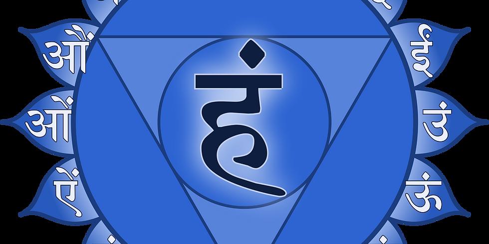 Chakra Series: Throat Chakra Deep Dive (Free Presentation over Zoom)