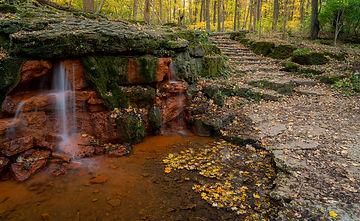 Ohio Trail Running Waterfall Poster.jpeg