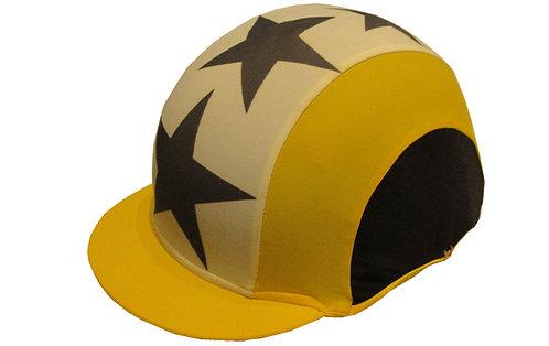 TOP STAR T jaune et noir