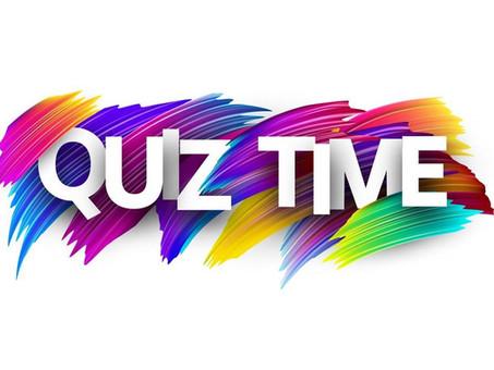 Quiz Time with Ms. Brady