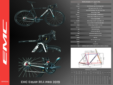 EMC Equip R1.4 Pro 2019 Cataloq Black
