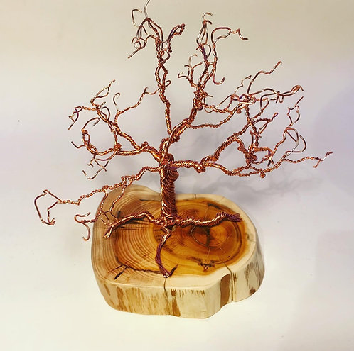 Free standing Copper Wire Tree