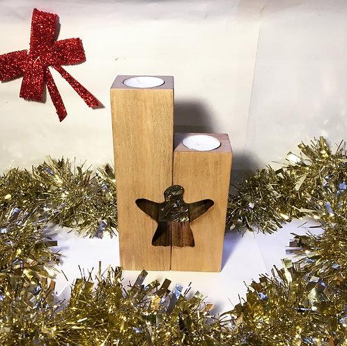Angel Pillar Candle Set