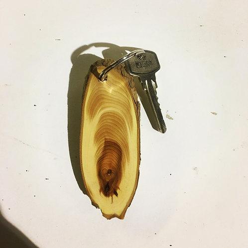 Yew Key Ring