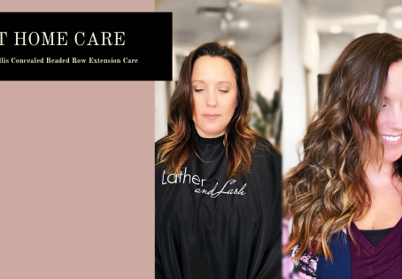 Harper Ellis Concealed Beaded Row Extensions: At Home Care