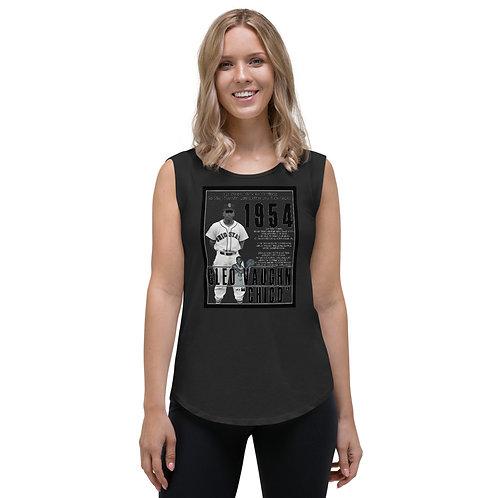 Cleo Vaughn Ladies' Cap Sleeve T-Shirt