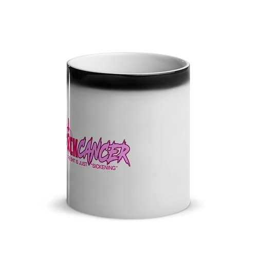 """F"" CANCER Glossy Magic Mug"