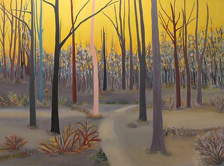 Yeni Hayat dizisi tabloları - Sarıgök Ormanı