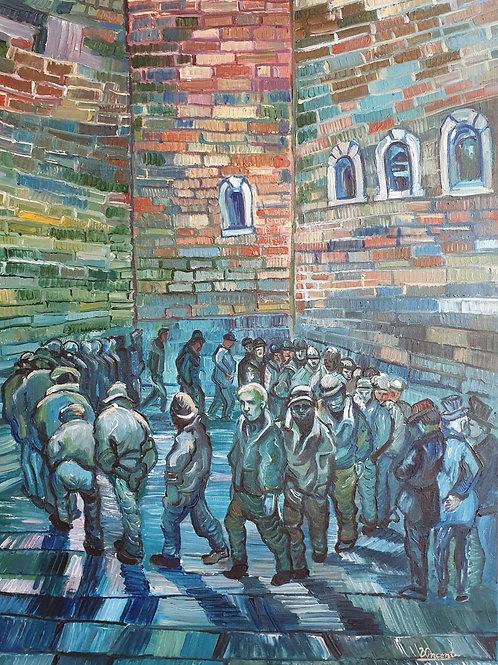 Prisoners Exercising - Sipariş