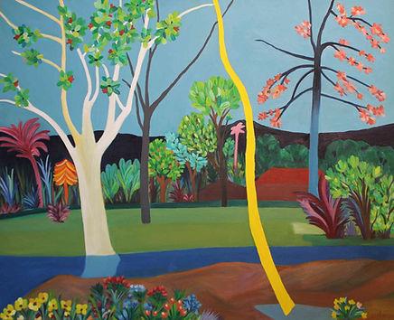 Yeni Hayat dizisi tabloları - Beyaz Ağaç