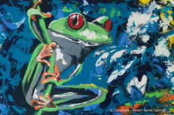 The Frog - Fovart Tablosu