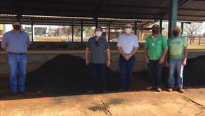 UVS Organosolví faz doação de fertilizante para o Sindicato Rural de Três Lagoas