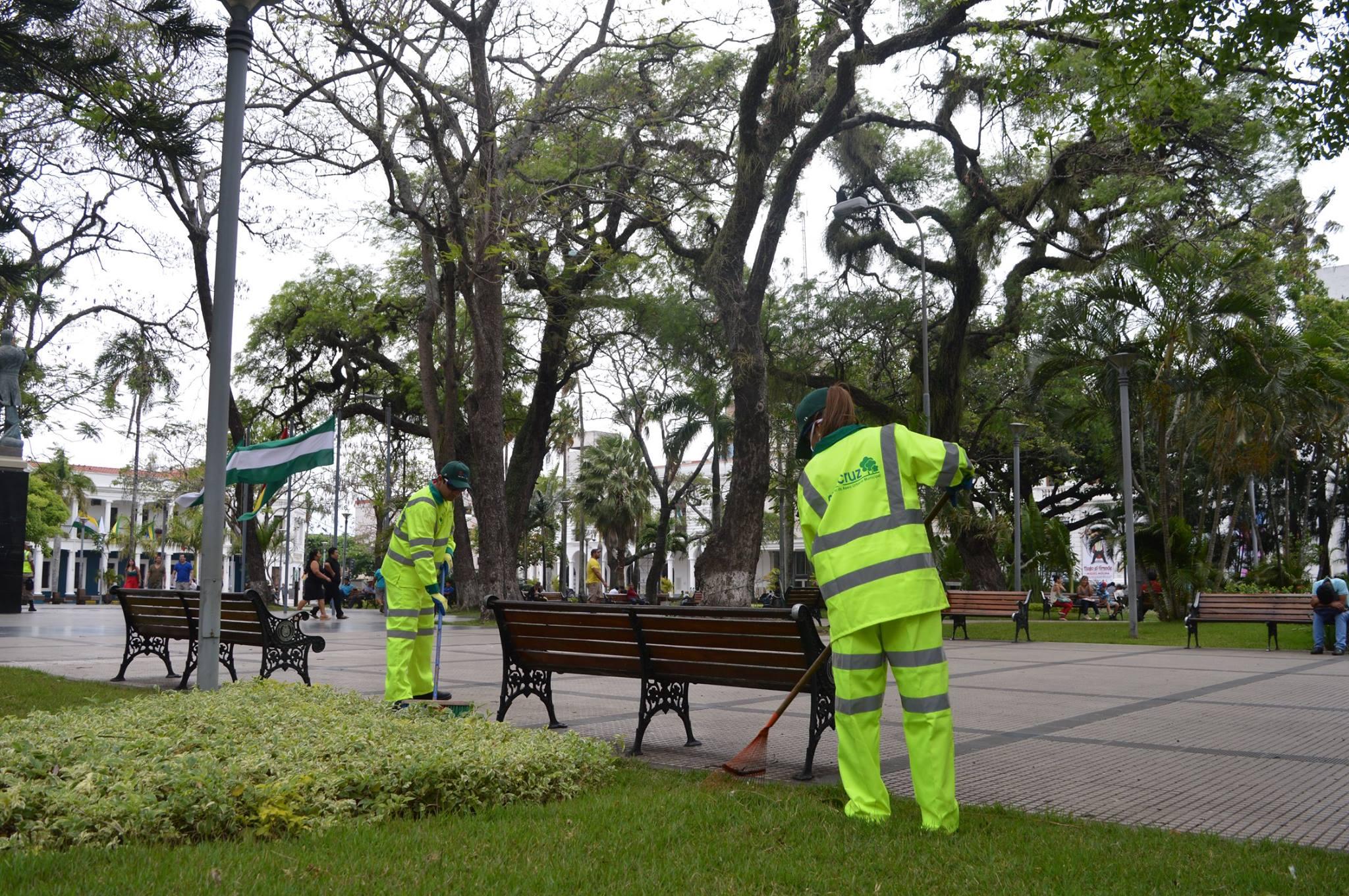 Manutenção de Parques