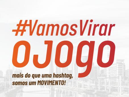 A primeira rodada de apresentação de cases do movimento #VamosVirarOJogo foi um sucesso!