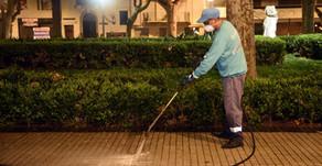 Limp Ar intensifica los operativos de higiene urbana en espacios públicos de Rosario