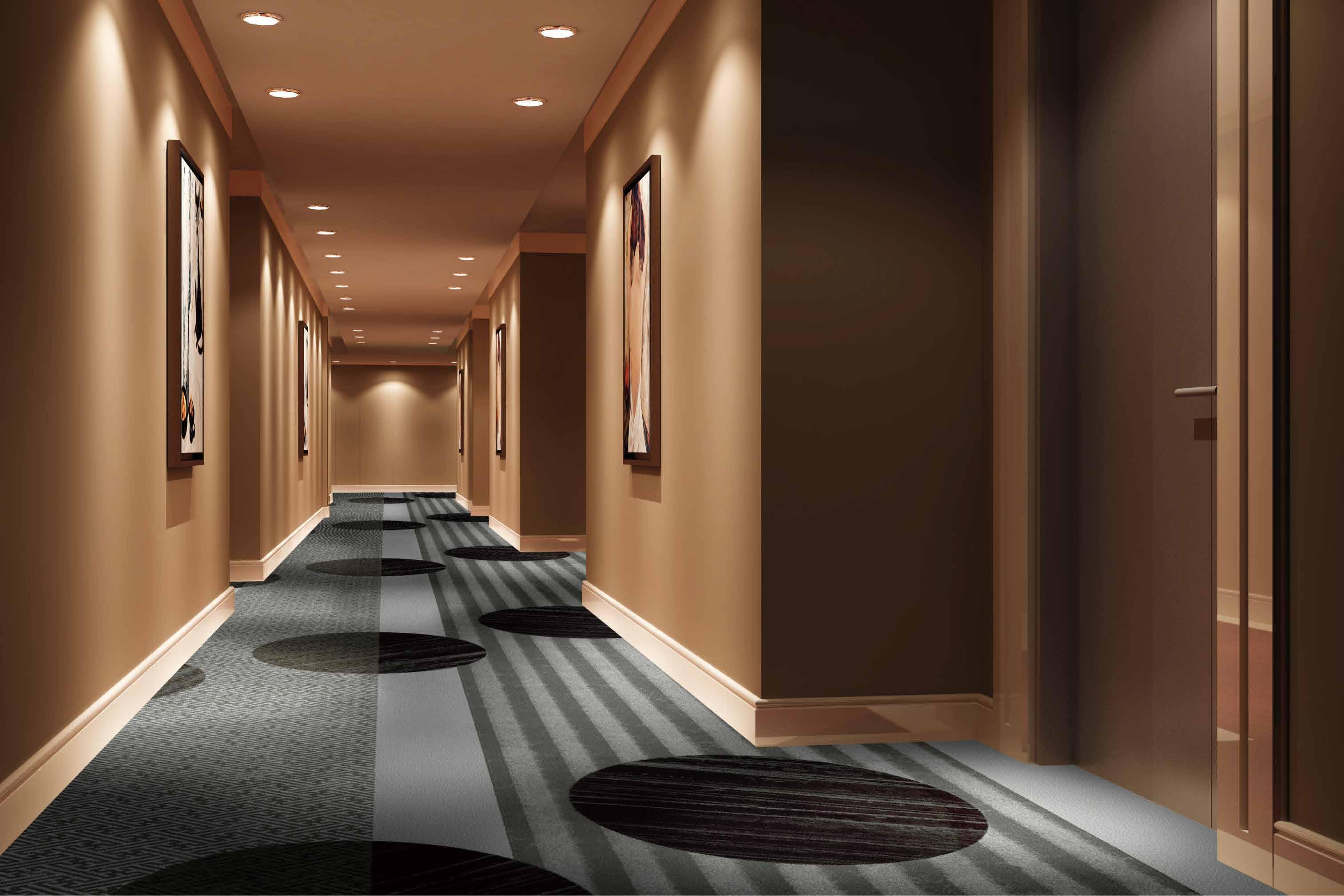 ホテルのカーペット