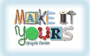 Make it Yours Upcycle Center Logo