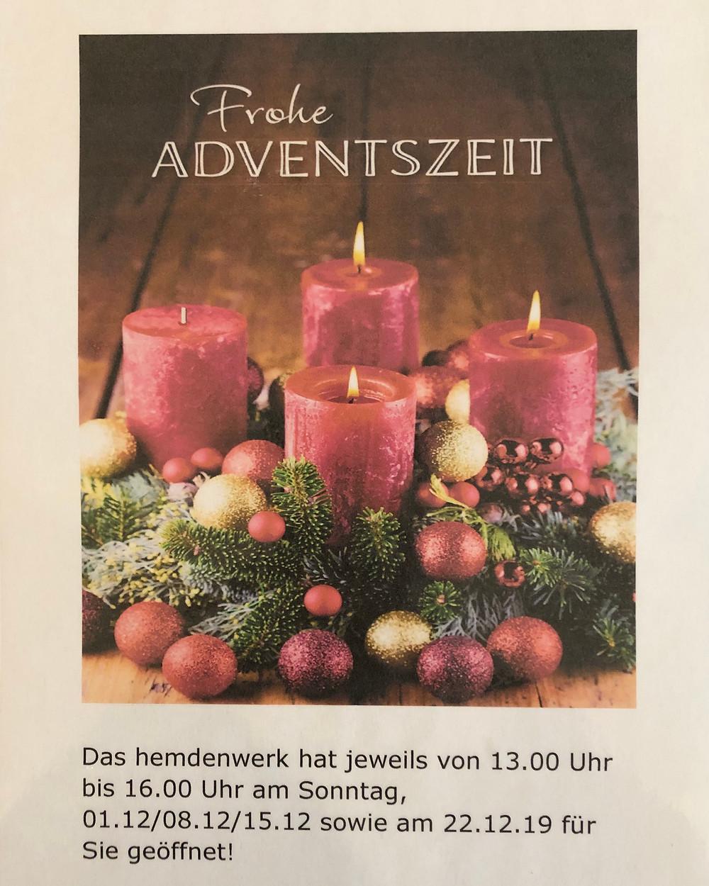 Frohe Adventszeit