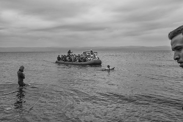 Lesvos - The Approach 2