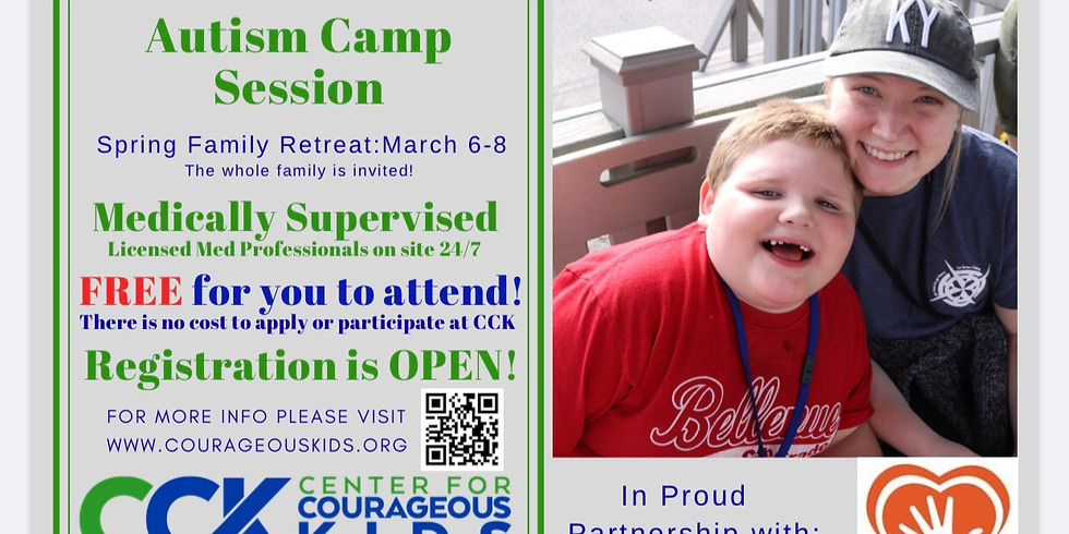 Cck Apply now at https://www.courageouskids.org/camper-information/camper-application/