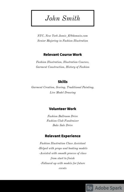 Federal Resume