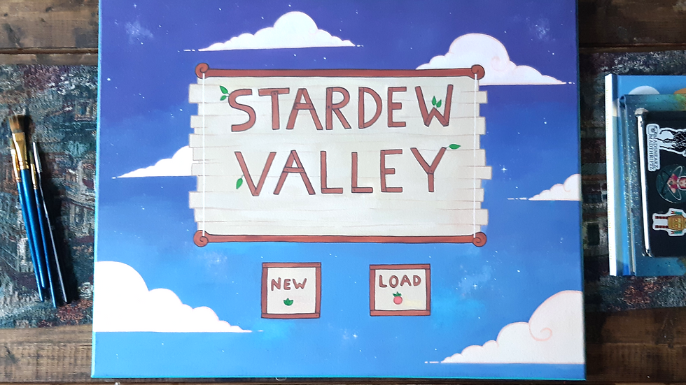 Stardew Valley Painting