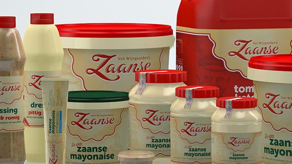 3D Packs Zaanse Mayo