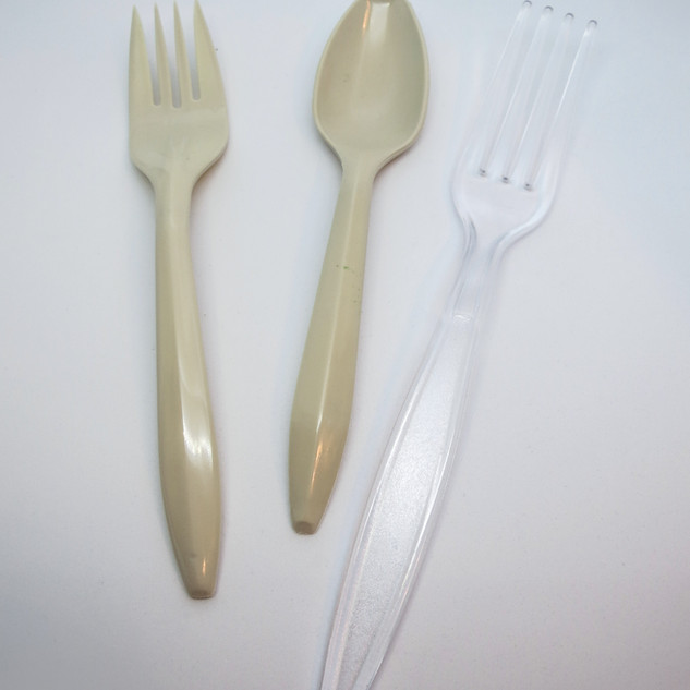 Biodegradable Plastic Utensils: Forks, Spoons, Knifes