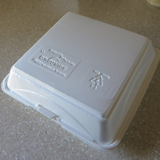 Biodegradable Styrofoam Food Container