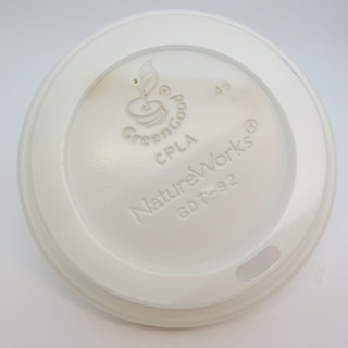 Biodegradable Plastic Coffee Cup Topper