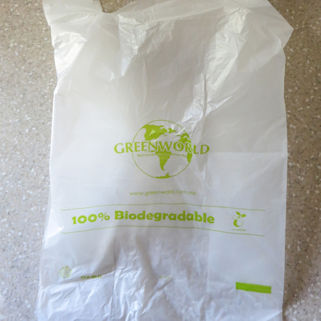 Biodegradable Plastic Bags with Printing