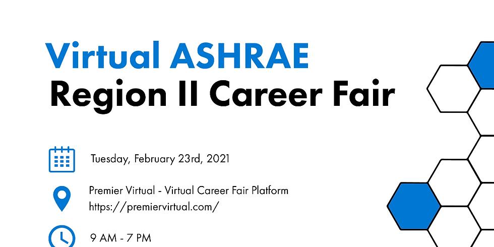 Virtual ASHRAE Region II Career Fair