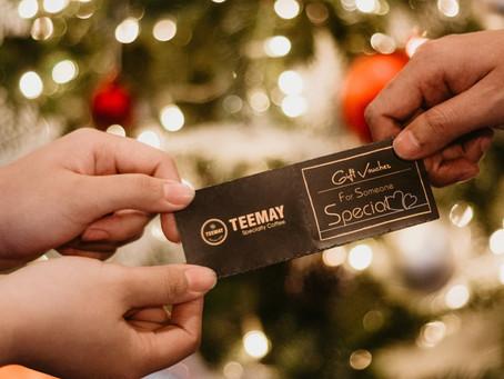 GIFT VOUCHERS DÀNH TẶNG CHRISTMAS & NEW YEAR