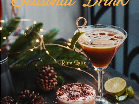 Chocolate Signature và Rum Latte - Thức uống đặc biệt dành cho mùa Giáng Sinh!