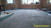 стяжка в деревянном доме