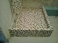 кабина из плитки